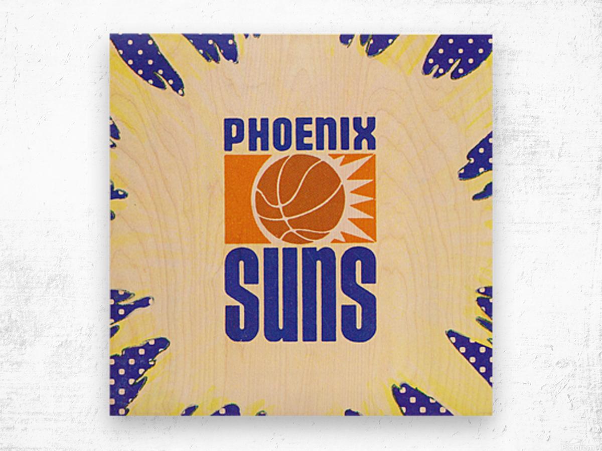 1988 Phoenix Suns Art Wood print