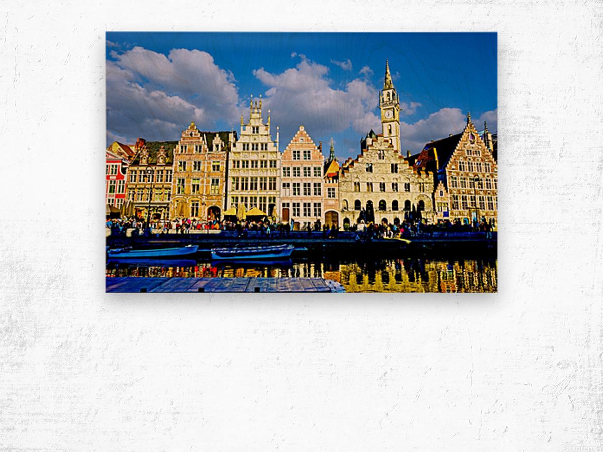 Passport to Belgium 3 of 5 Wood print