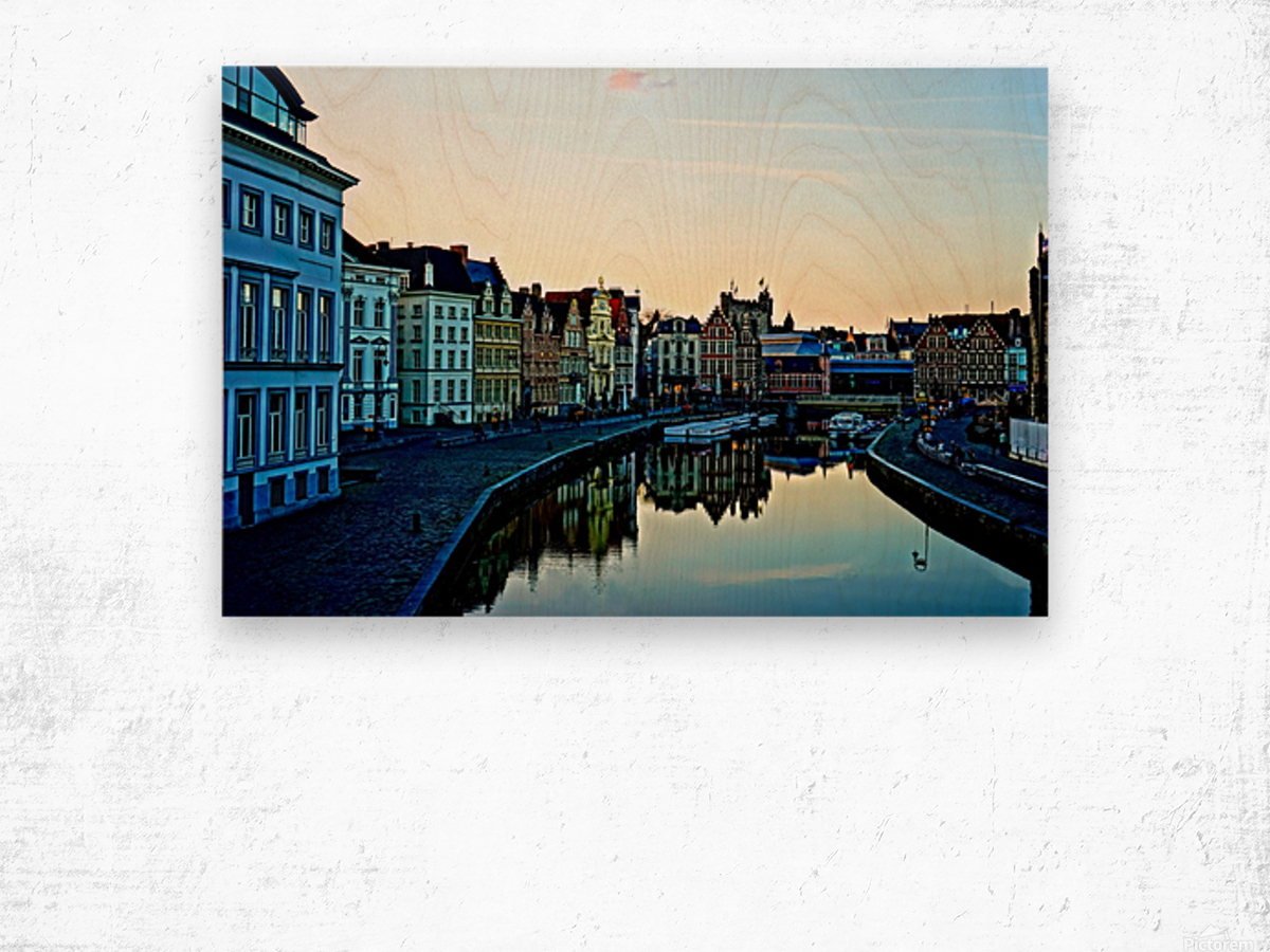 Passport to Belgium 4 of 5 Wood print