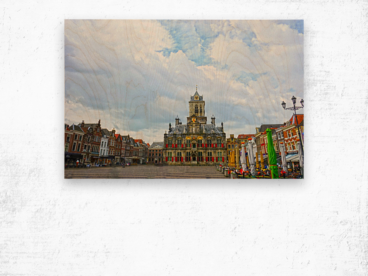 A Dream of the Netherlands 2 of 4 Wood print