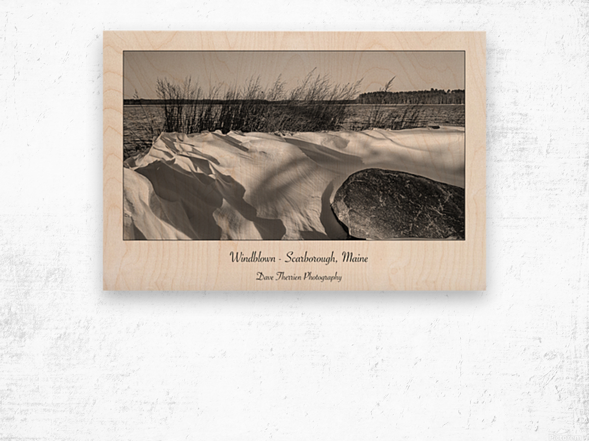 Windblown Wood print
