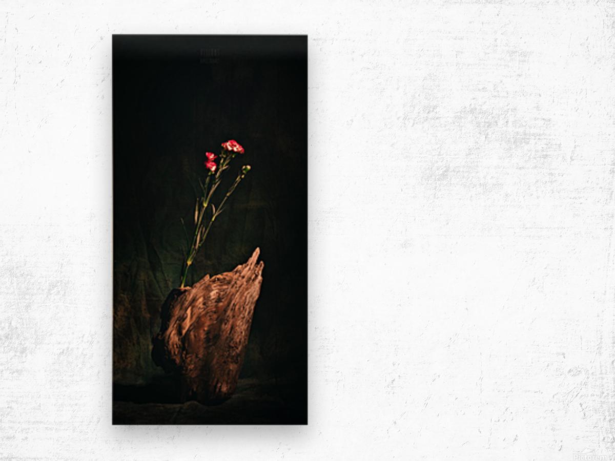 Inspiration Zen Wood print
