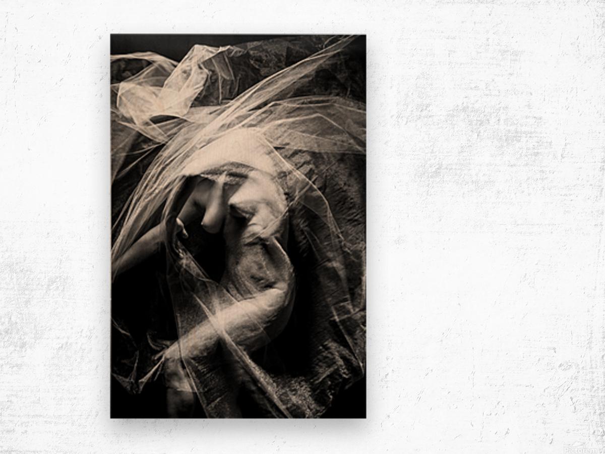 FLUX OF LOVE Wood print