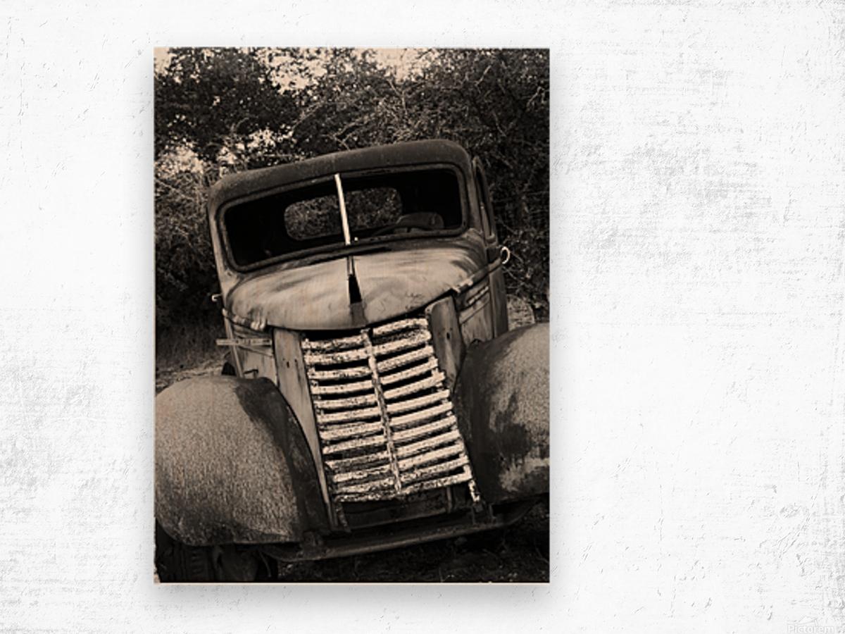 GOOD OL GRILL Wood print