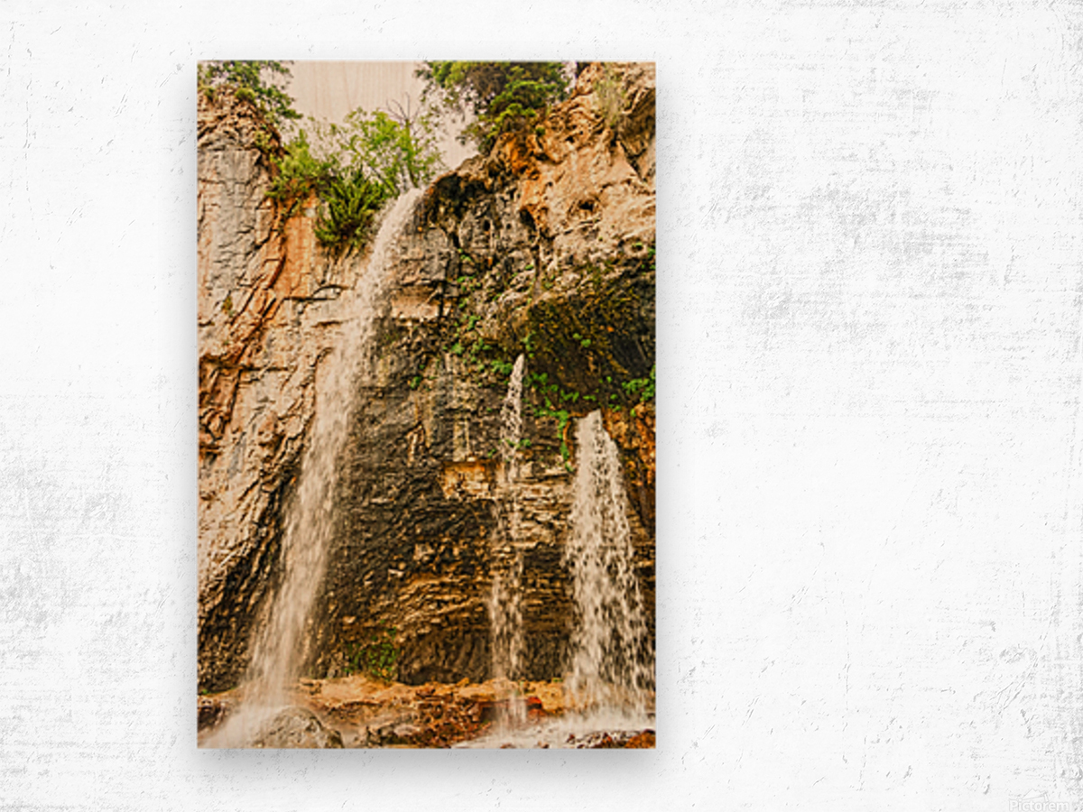 Rocky Mountain Rapids and Waterfalls 8 of 8 Wood print