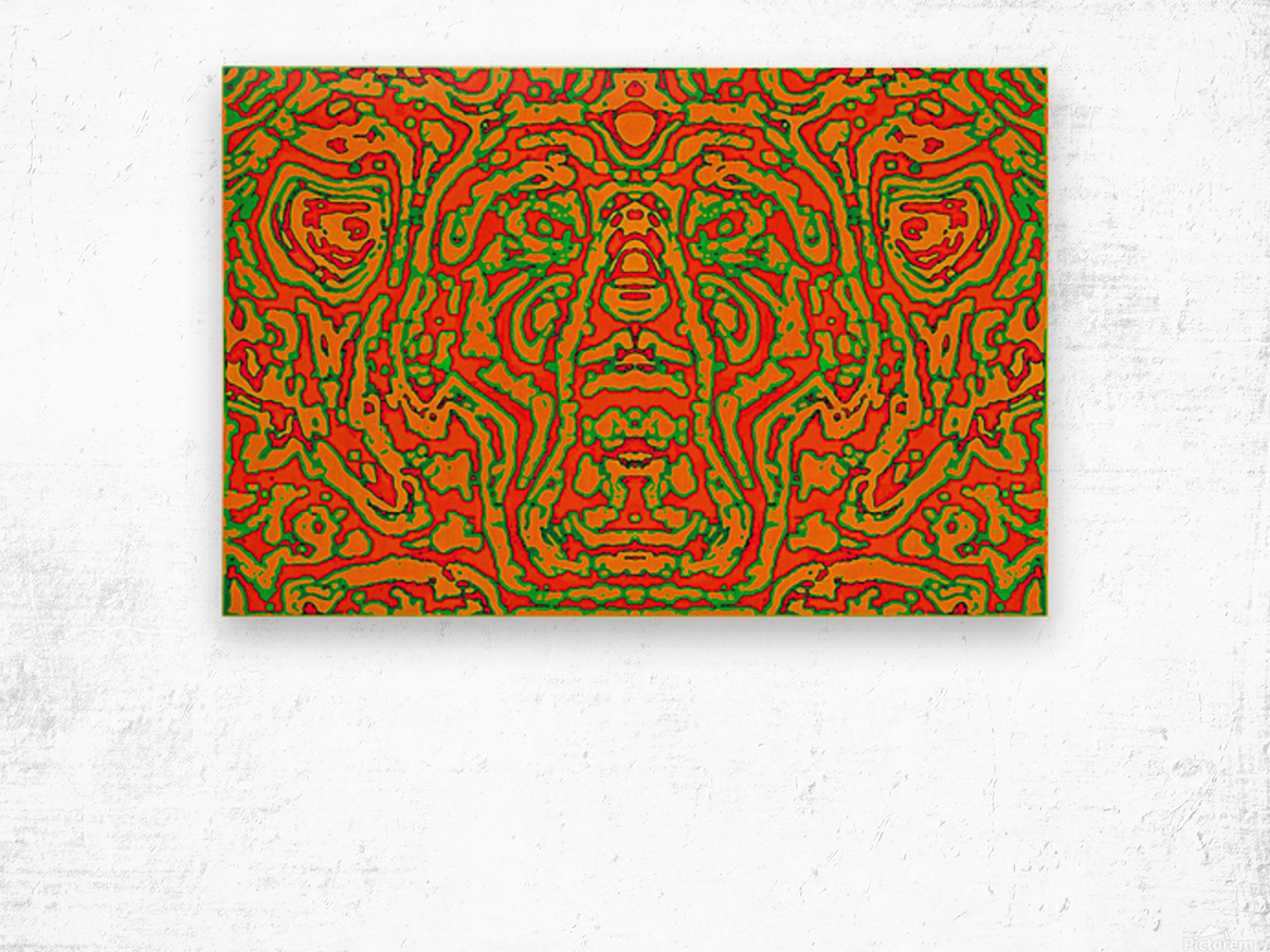 CAPRICIOUS AUDACITY I Wood print
