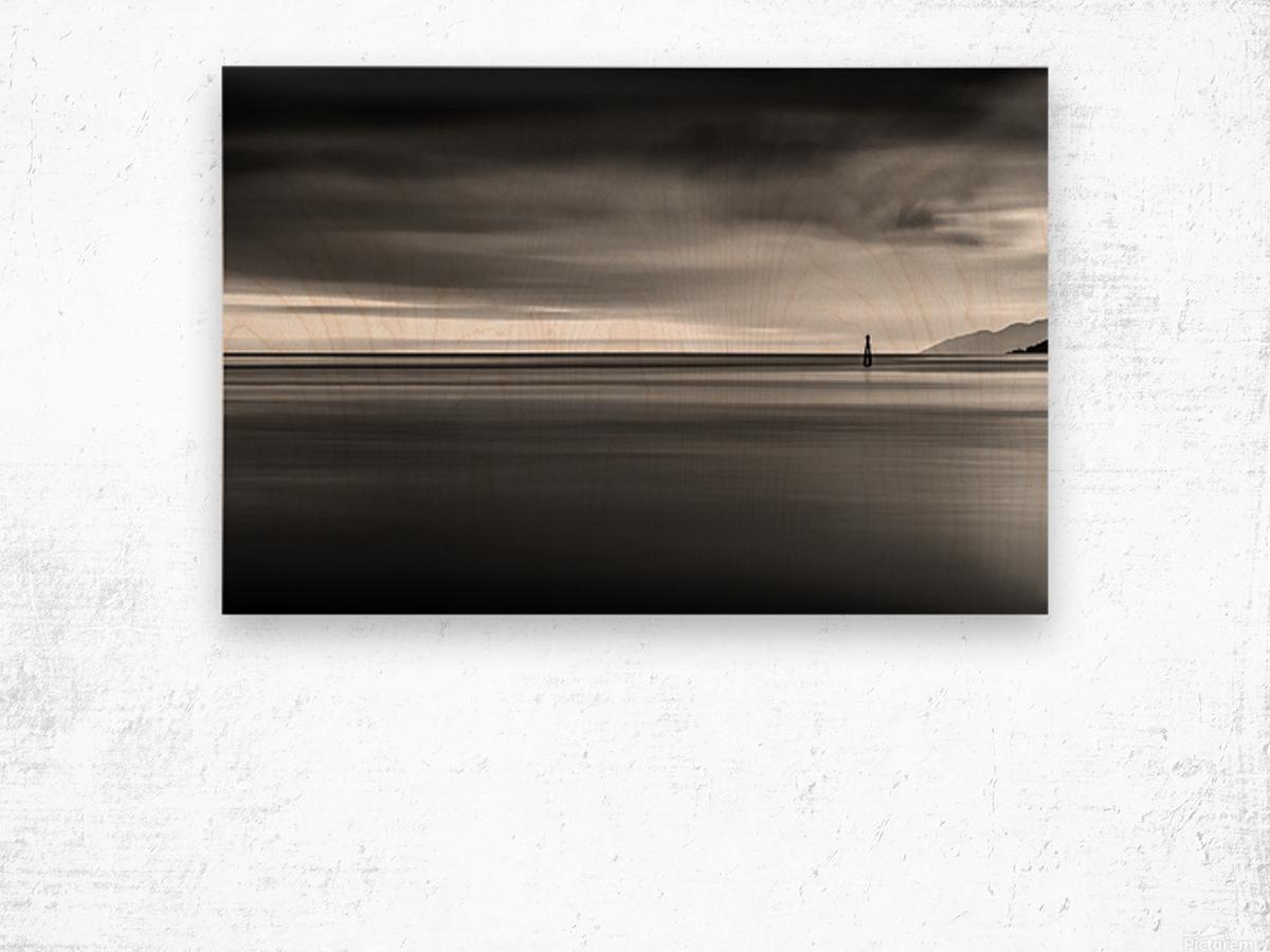 Calming Seas Wood print