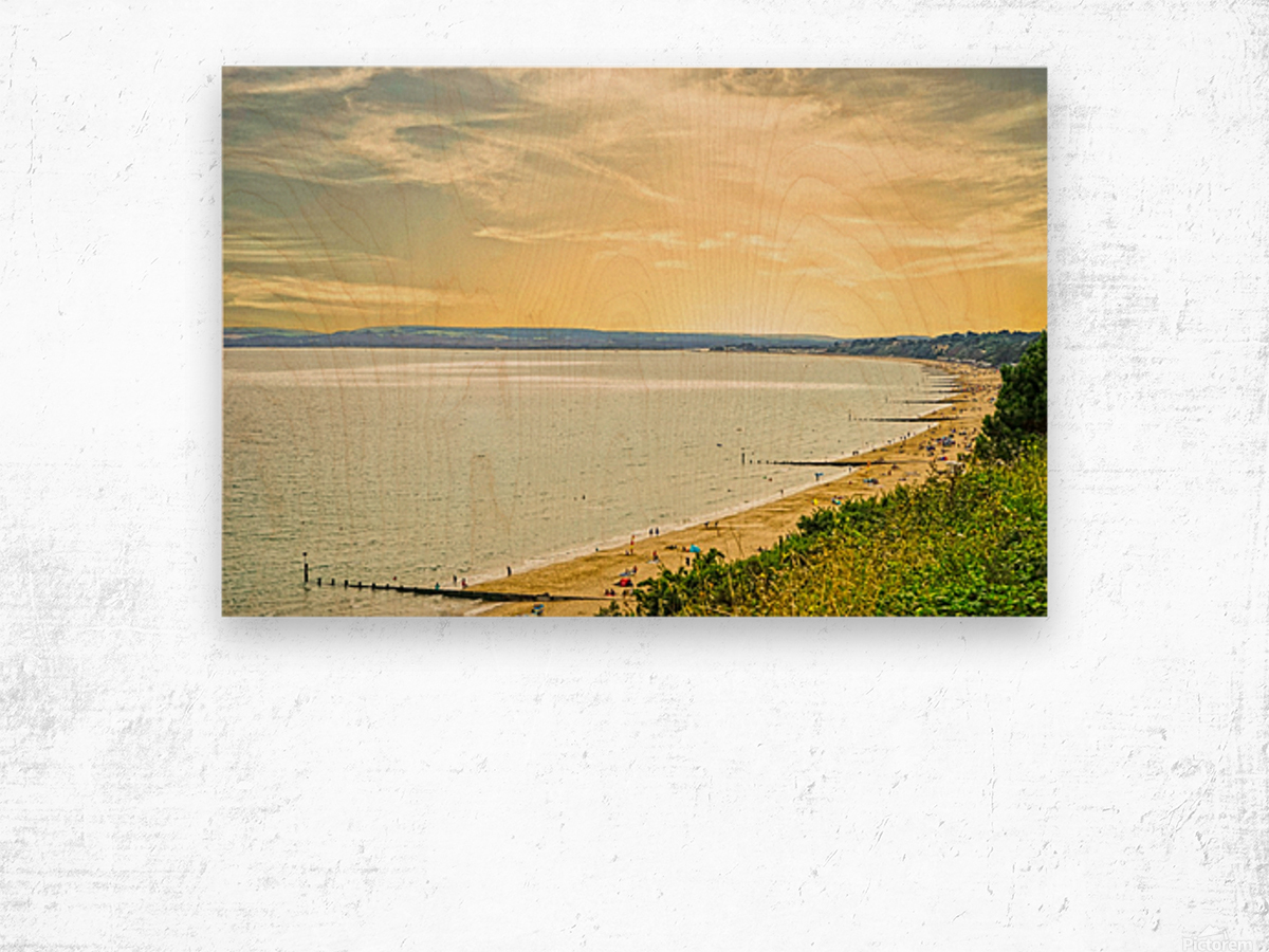 Coastal England Wood print