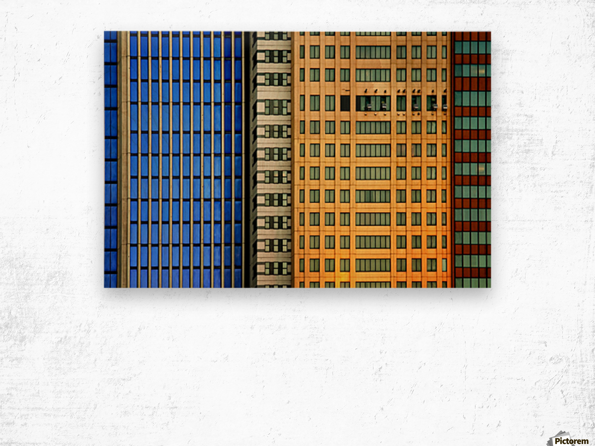 Windows on the City by So Sad Mathilde Wood print