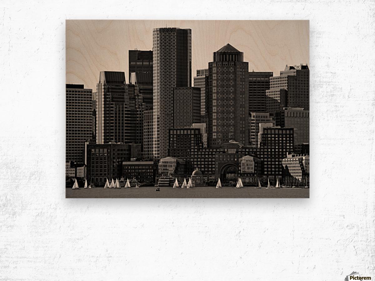 Towers Wood print