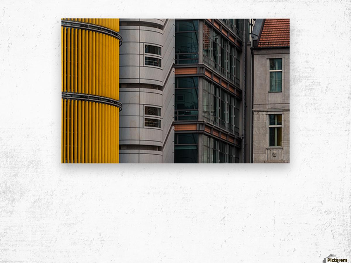Opposite attraction III by Benjamin Brosdau  Wood print