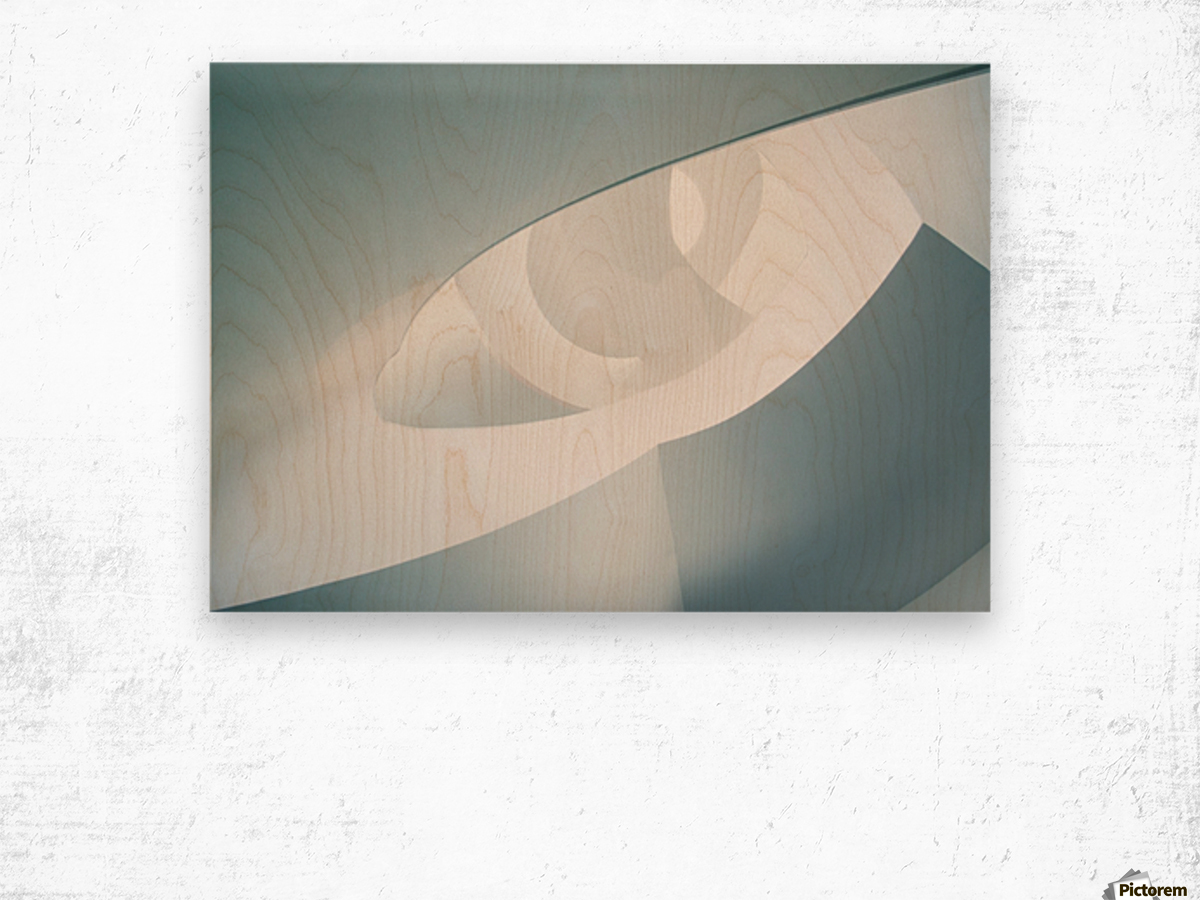 Stairs Different by Greetje van Son Wood print