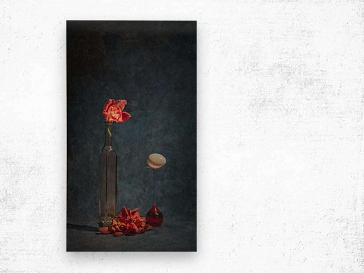Etude Zen 3n Wood print