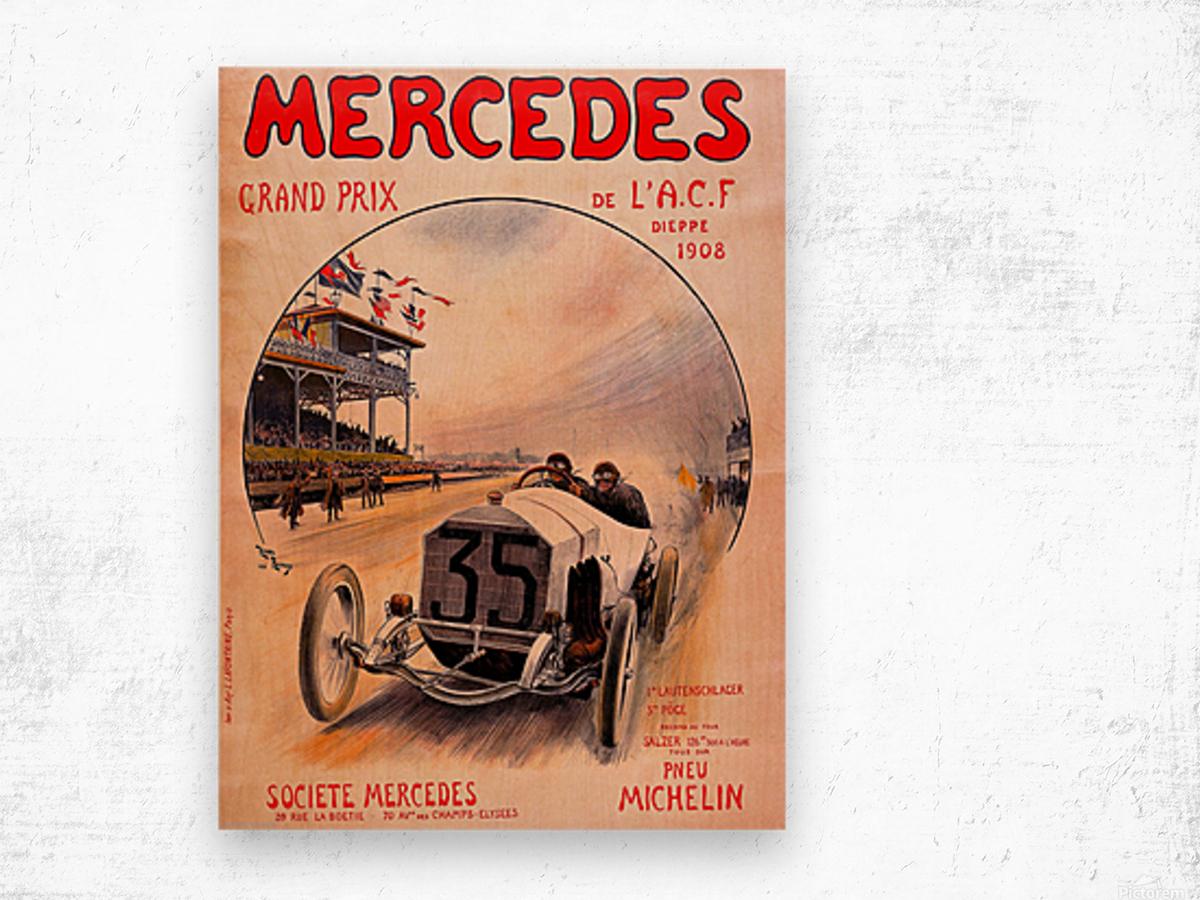 Mercedes Grand Prix Wood print