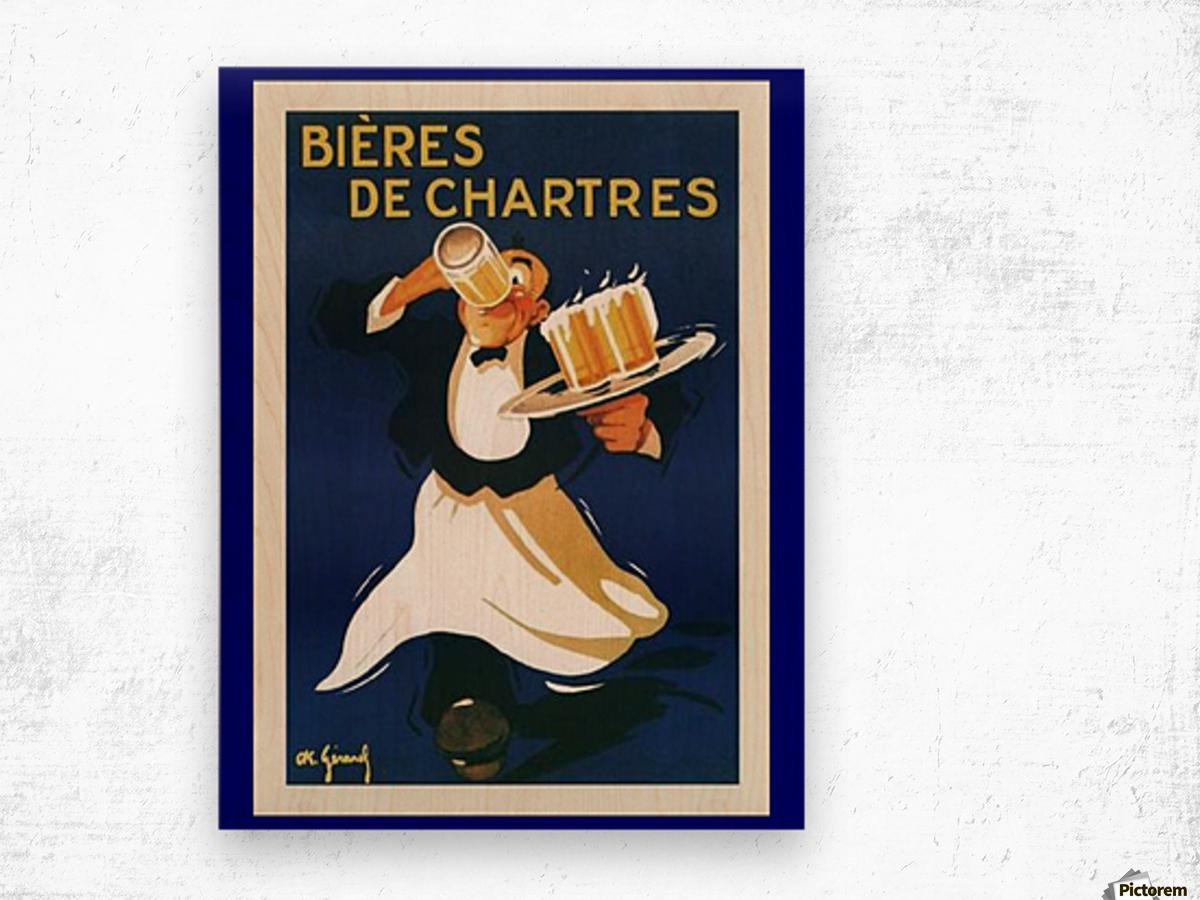 Bieres de Chartes Wood print