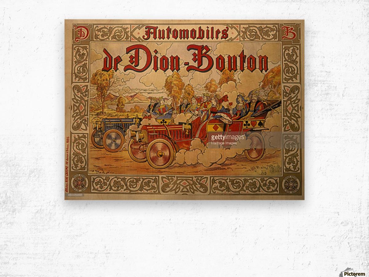 Dion Bouton Wood print