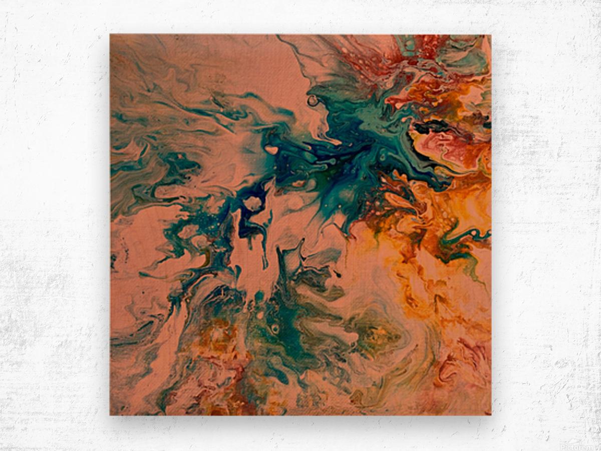 Joy Overflows Wood print
