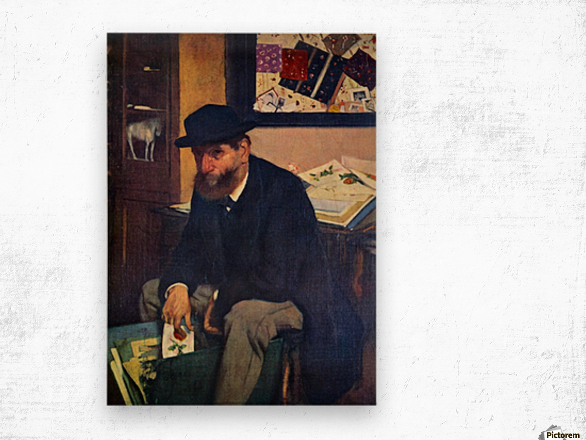 The Amateur by Degas Wood print
