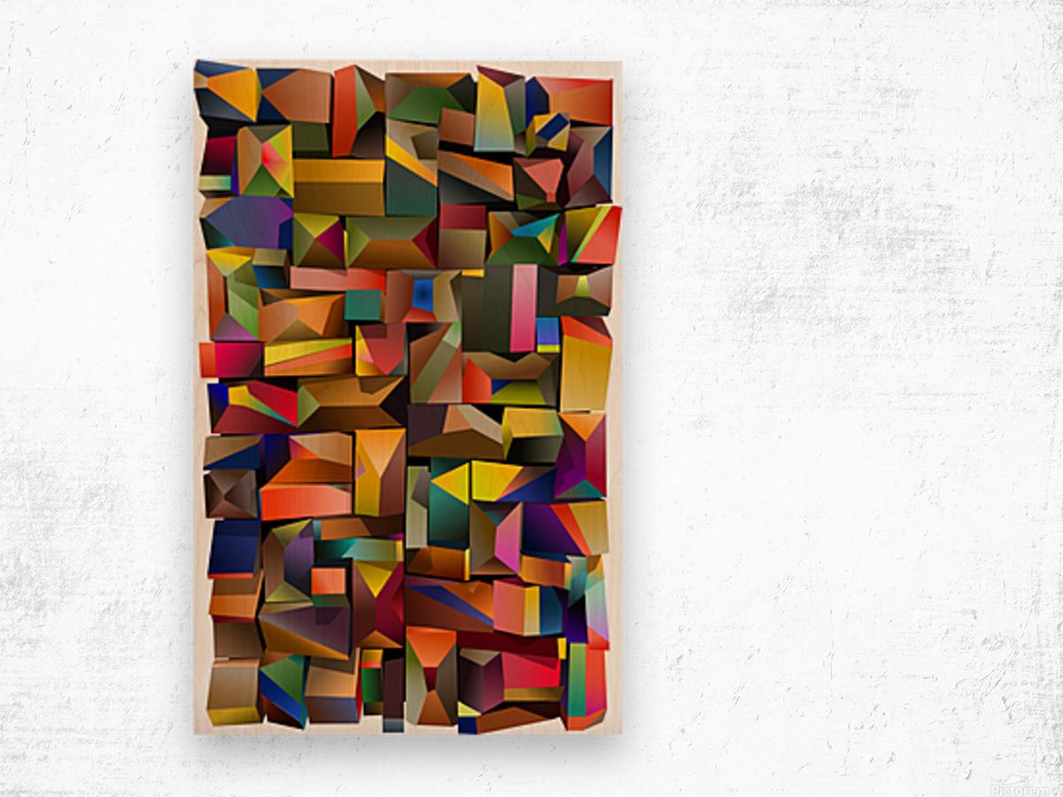 MDP3-V3 Wood print