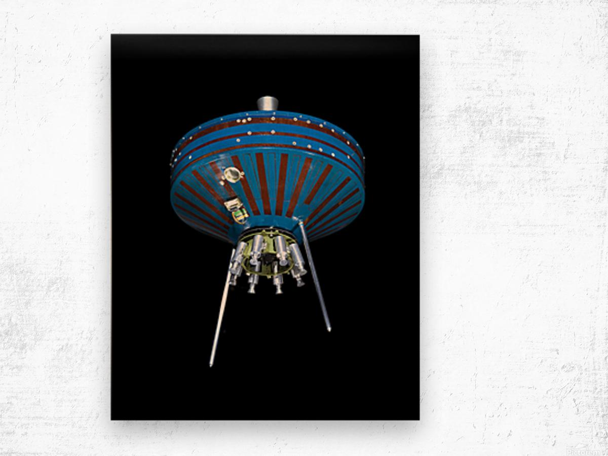 NASA Pioneer SatPioneer 1 Satellite Outer Space Image Space Imageellite Replica Wood print