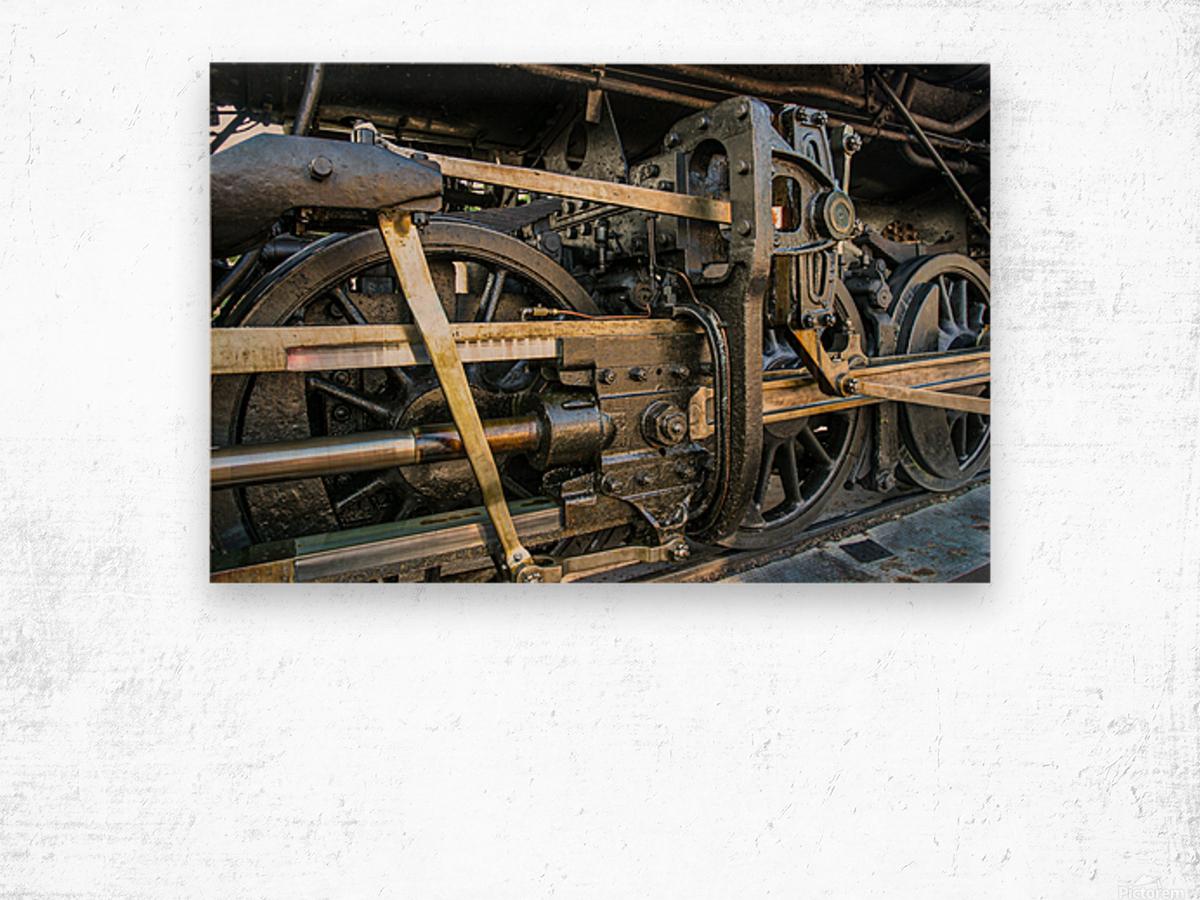 Strasburg 16 Wood print