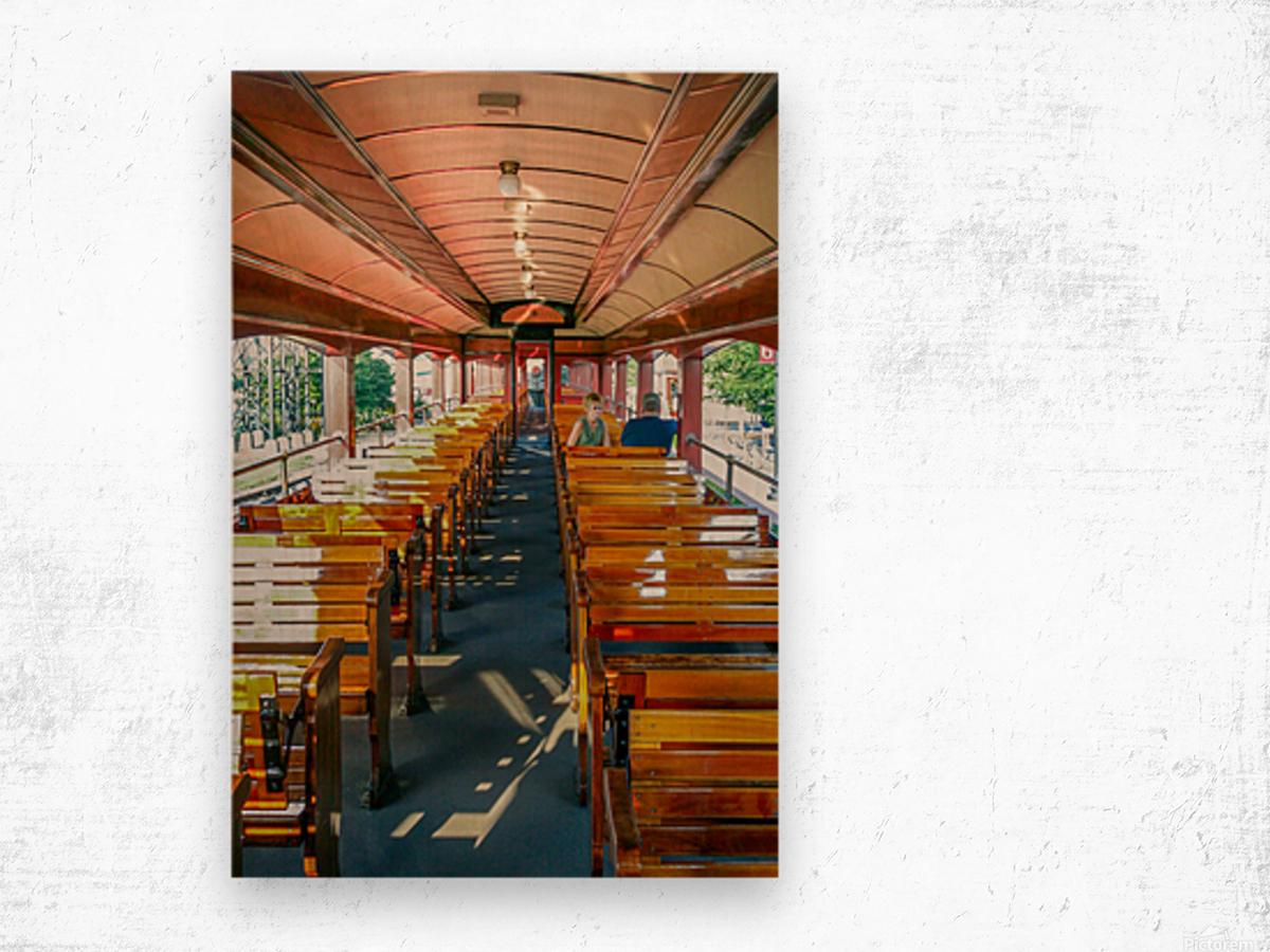 The Cheap Seats. Wood print
