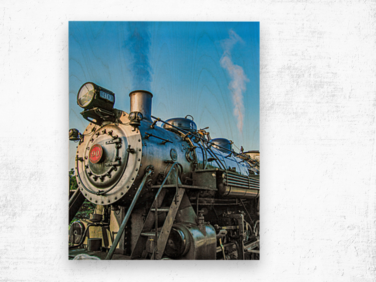 Strasburg 0171 Wood print