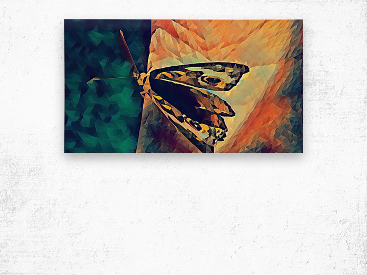 butterfly art Wood print