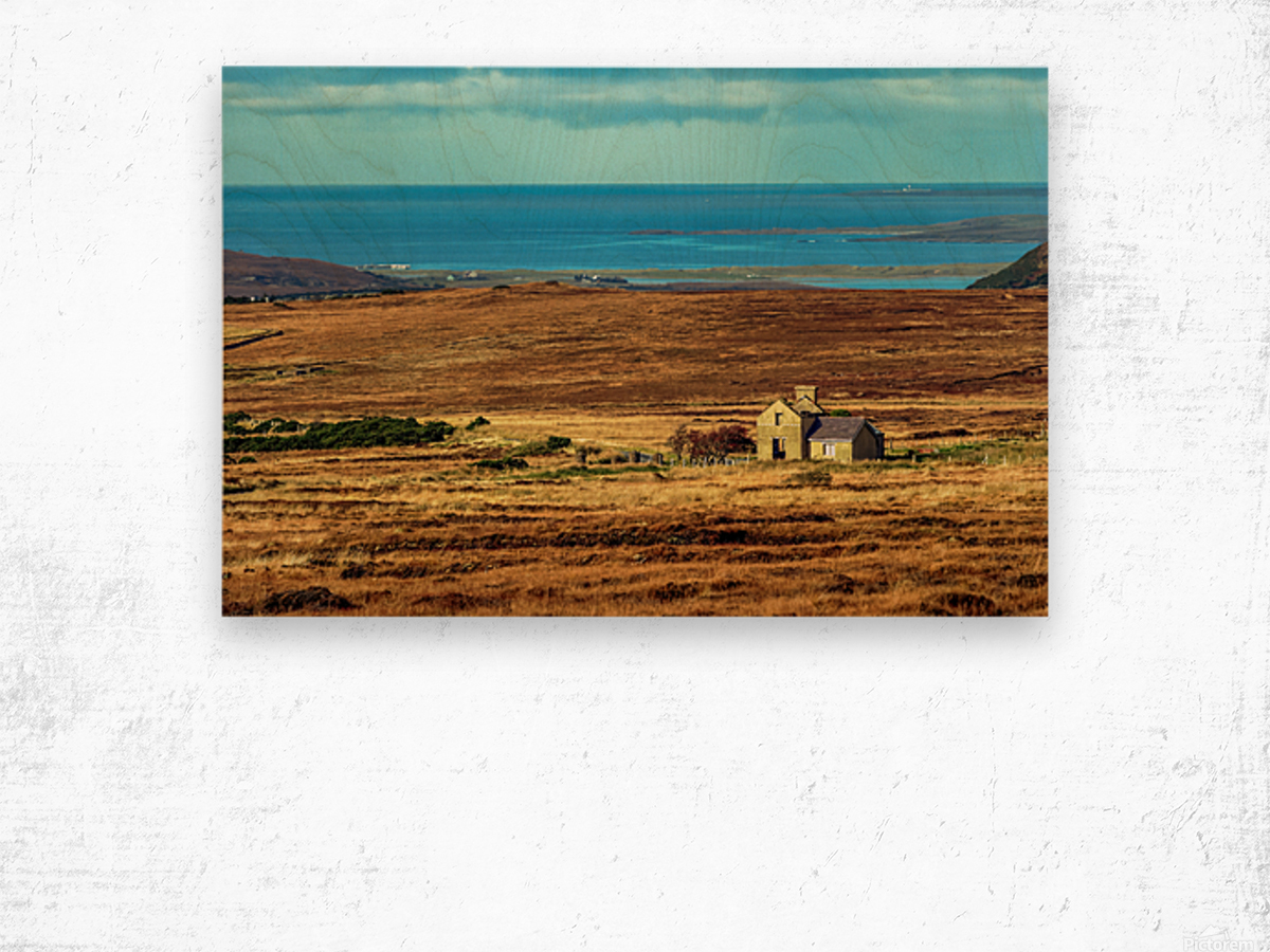 Donegal 12 Wood print