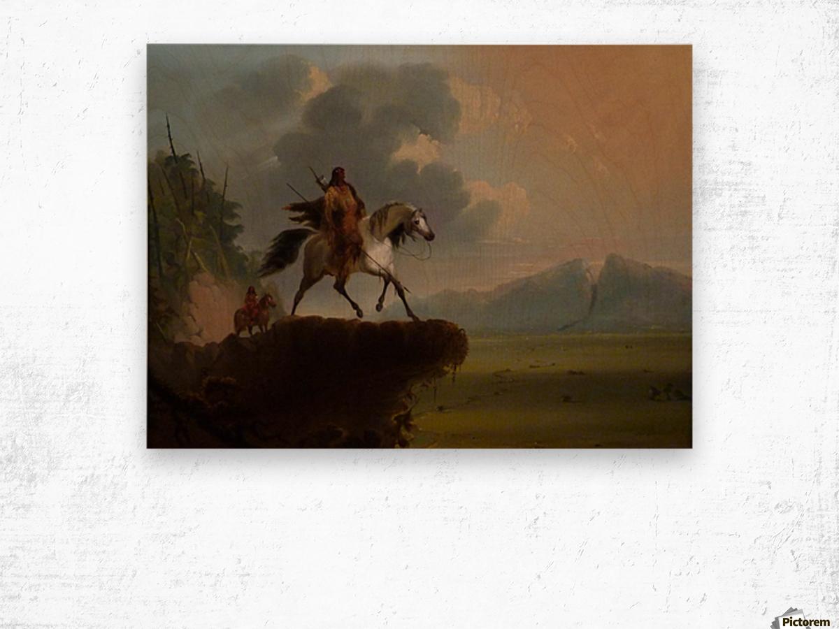 Wild West Wood print