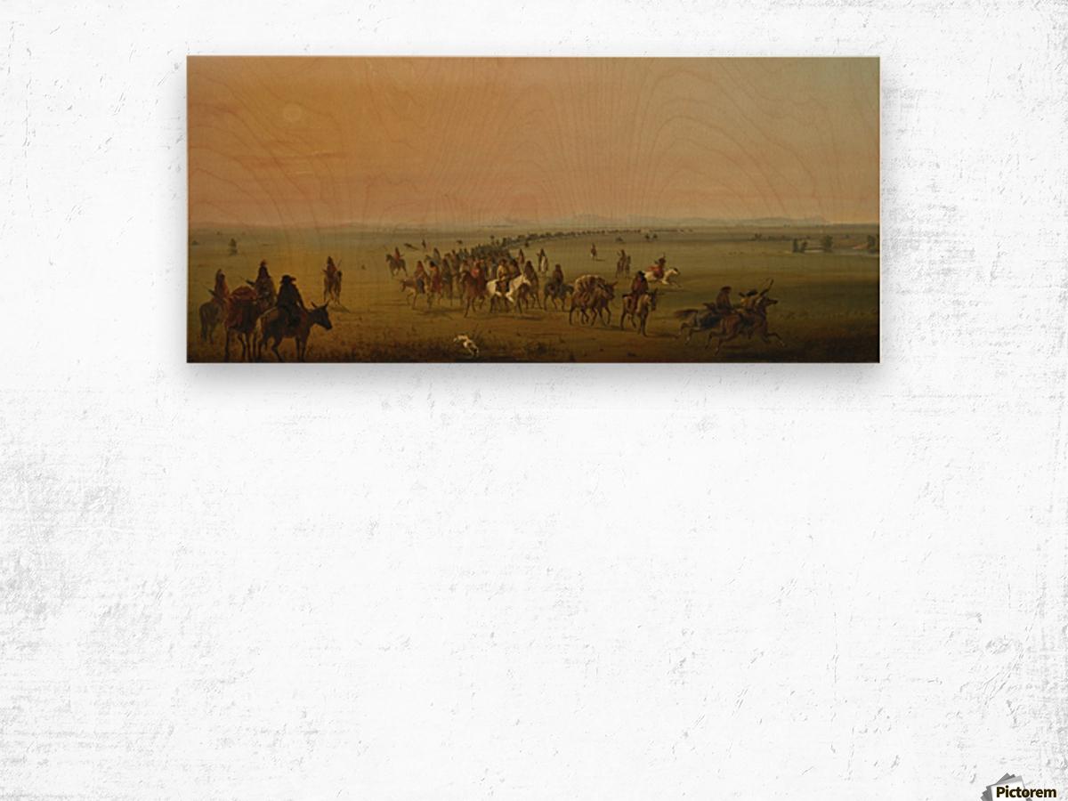 Sir William Drummond Caravan en Route Wood print