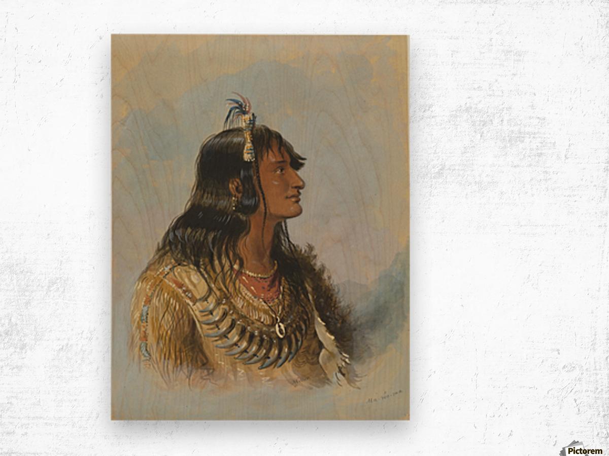Mawoma Wood print
