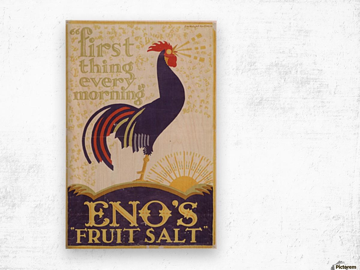 Enos fruit salt Wood print