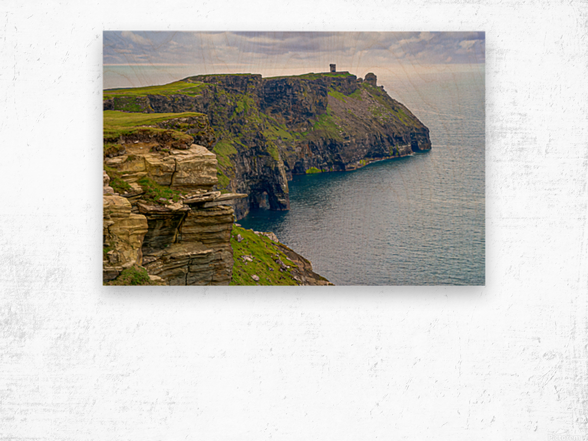Cliffs Of Moher 4 Wood print