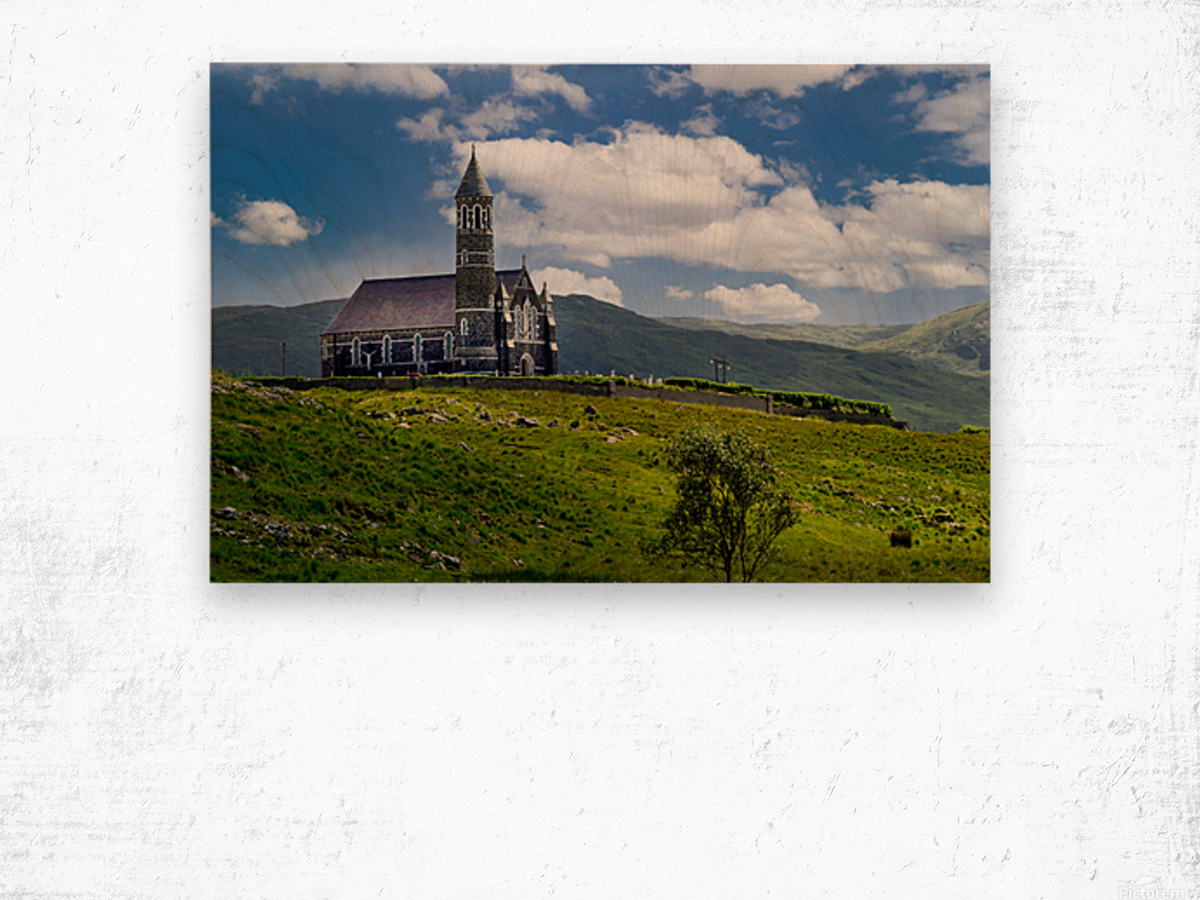 Church of the Sacred Heart Wood print
