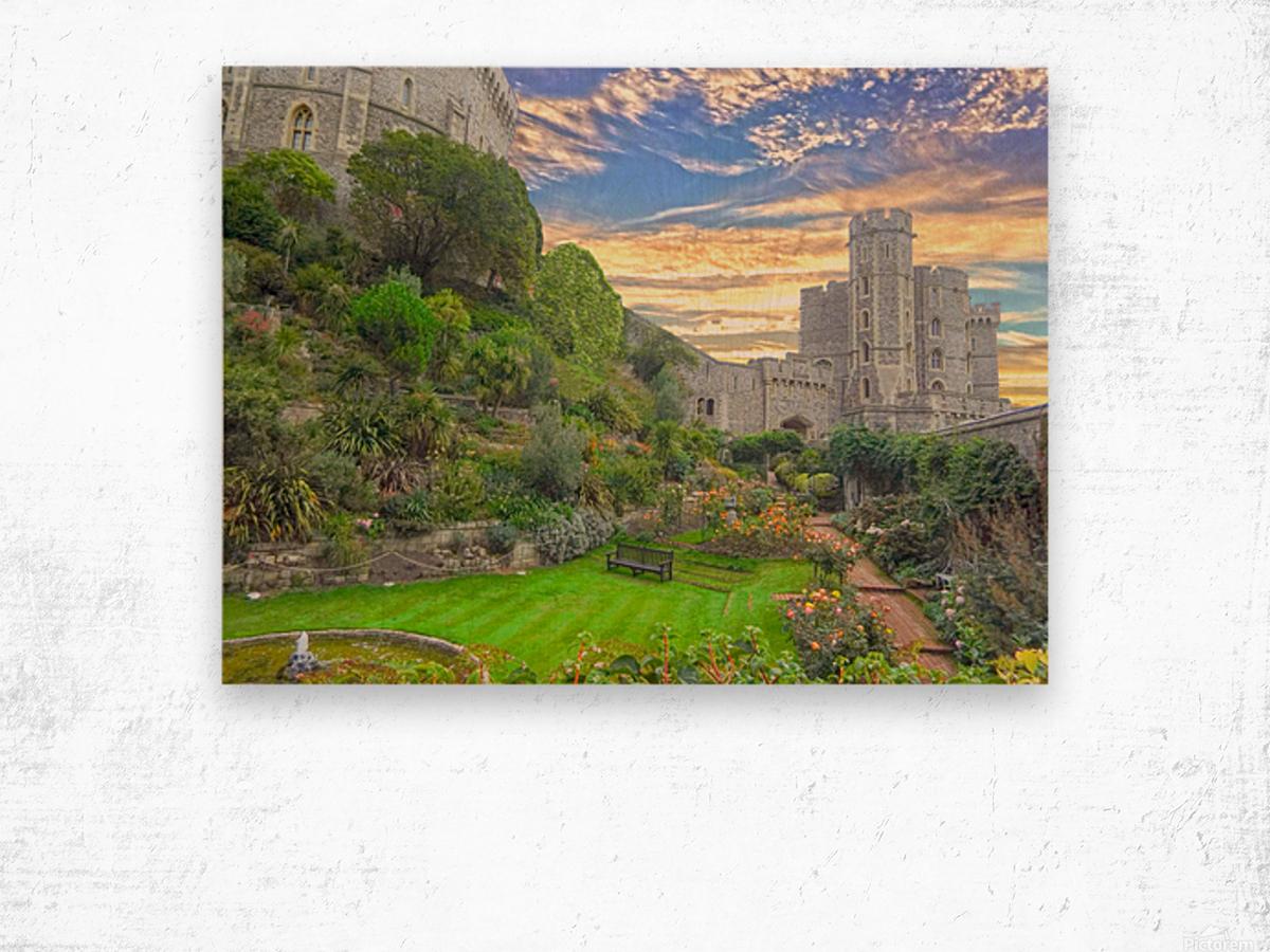 Windsor Castle England 1 of 2 Wood print