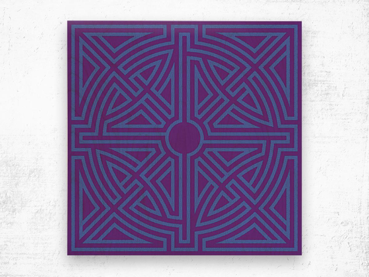 Labyrinth 6003 Wood print