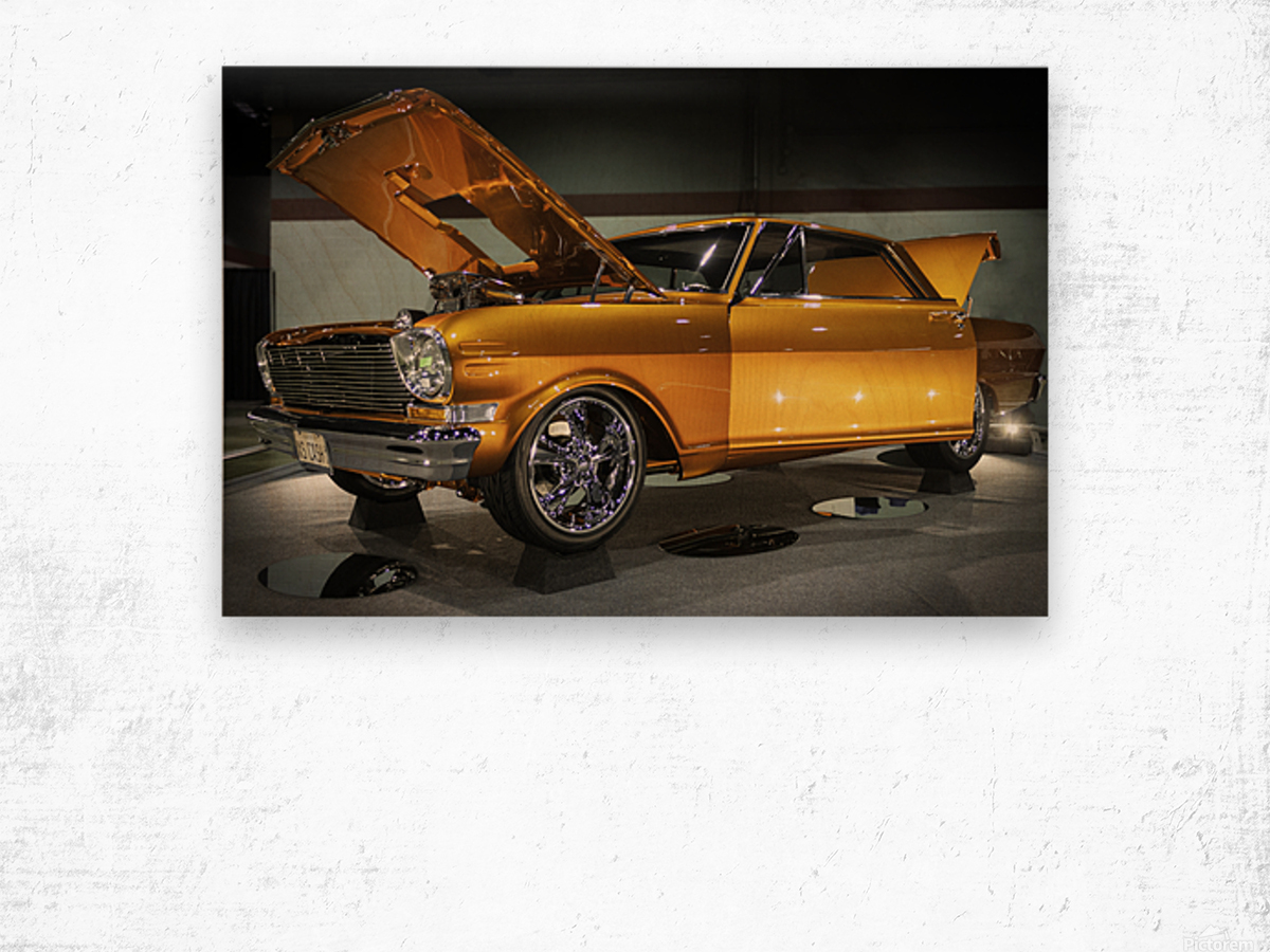 1966 Chevy II Nova Wood print