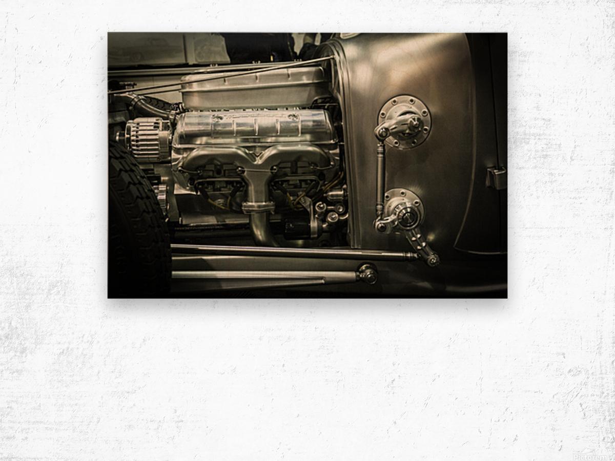 Modified Engine Wood print