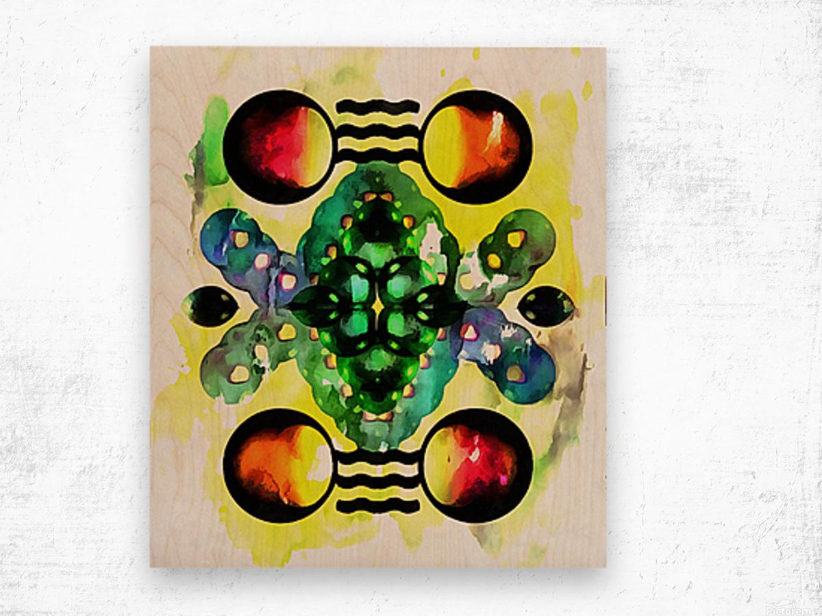 Hado Energy 3 Wood print