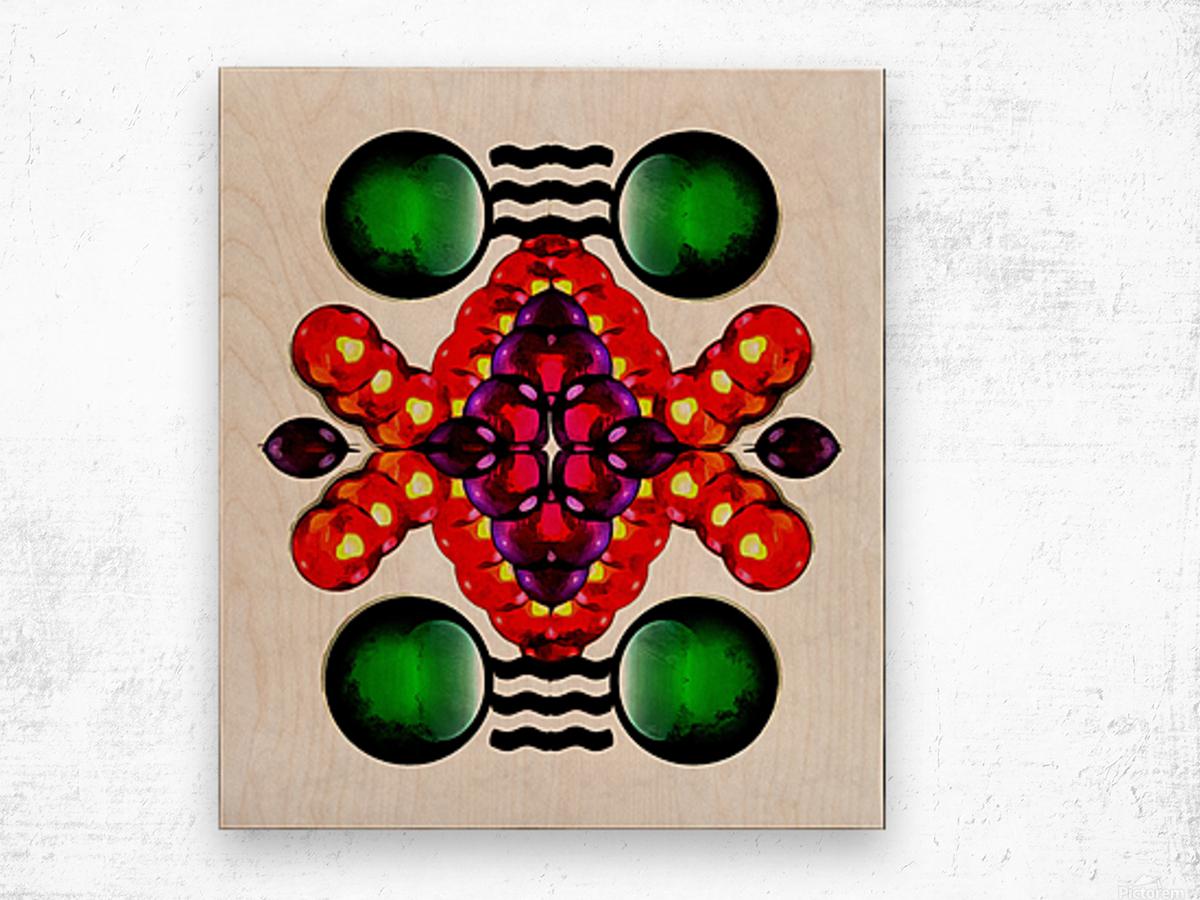 Hado Energy 2 Wood print