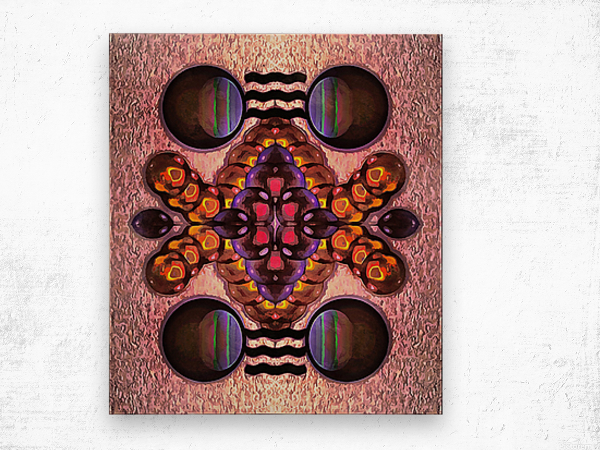 Hado Energy 4 Wood print