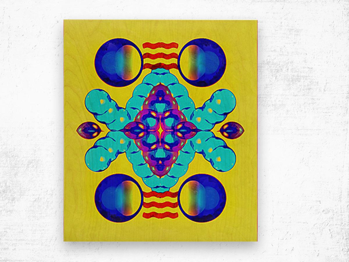 Hado Energy 8 Wood print