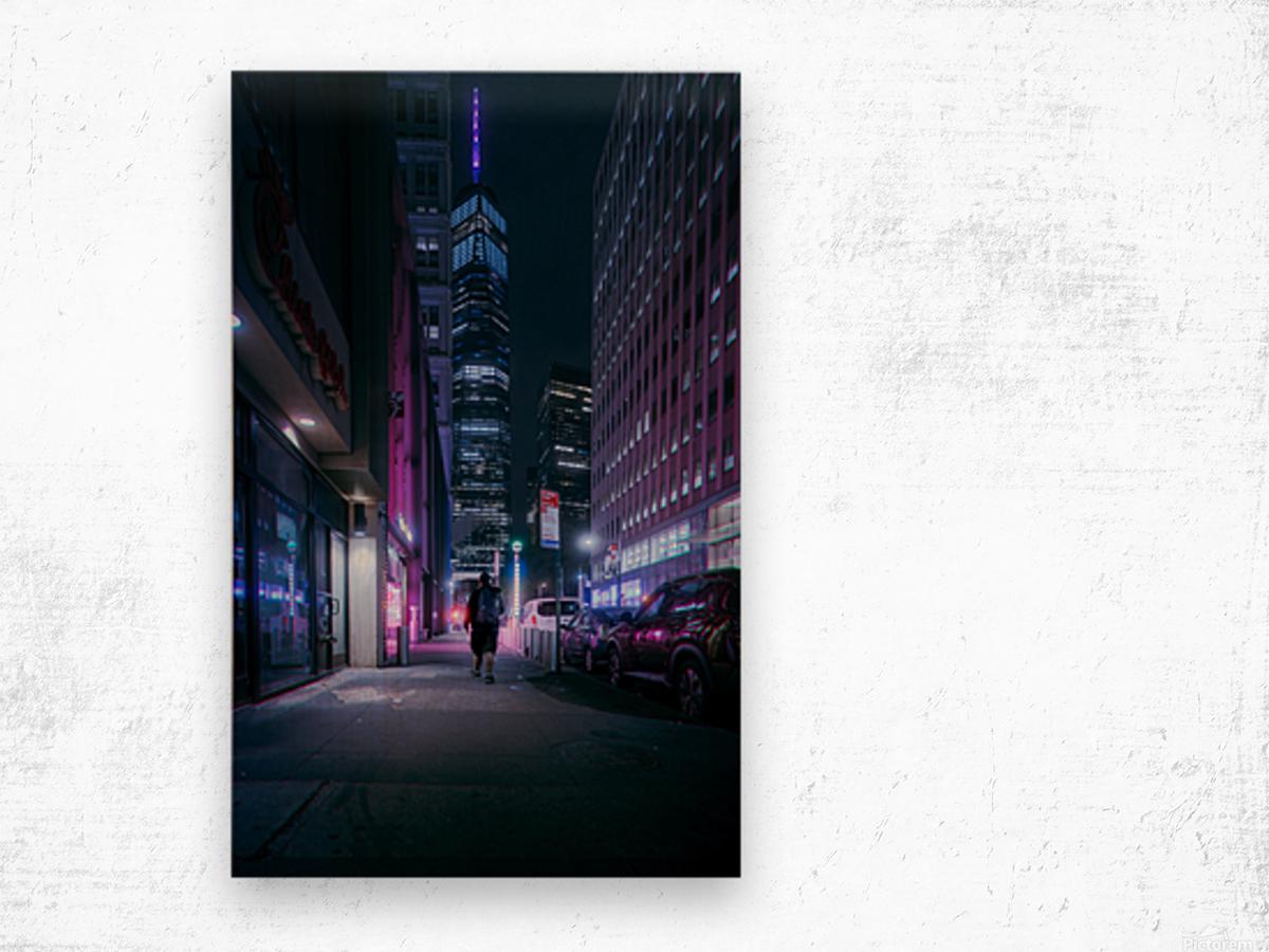 Beacon In The Night Wood print