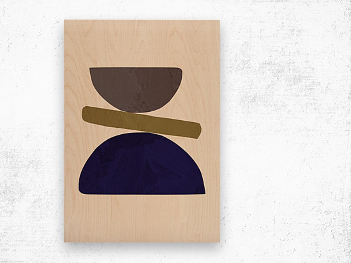Collage 05 Wood print