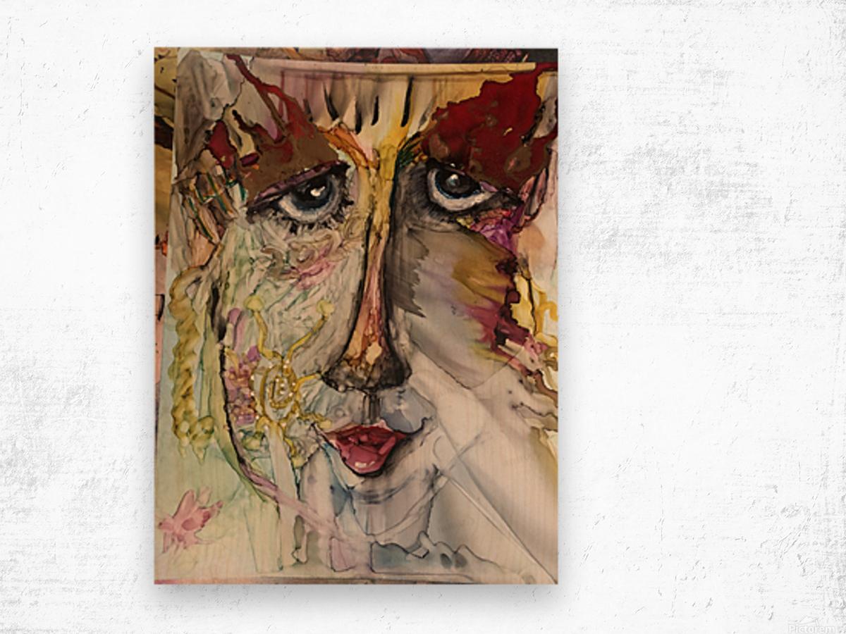 Higher Self Wood print