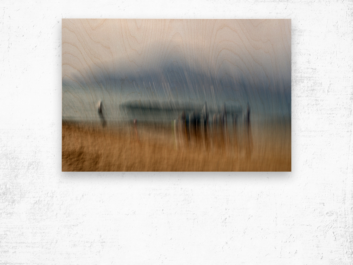 Rite of Passage Limited edition of  5-3 left Wood print