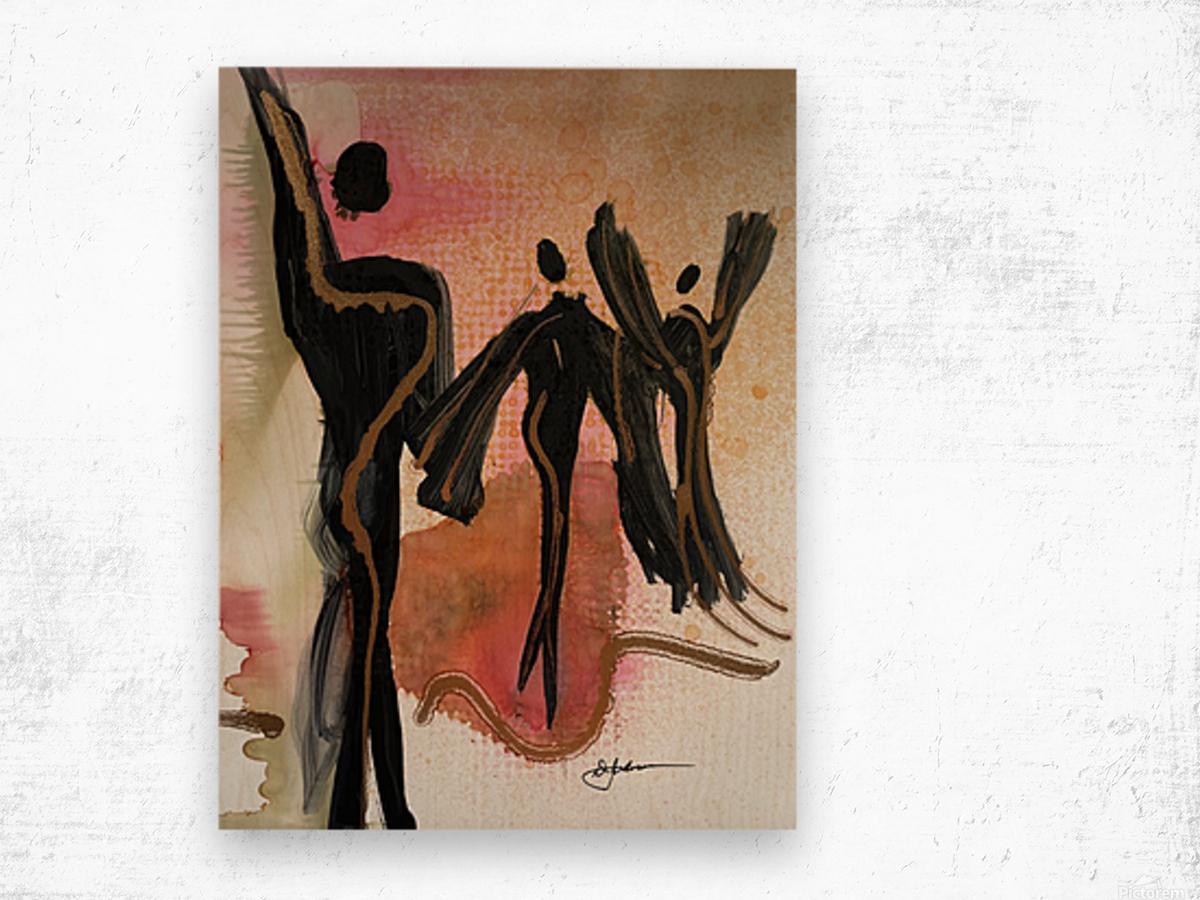 My People 5 Wood print