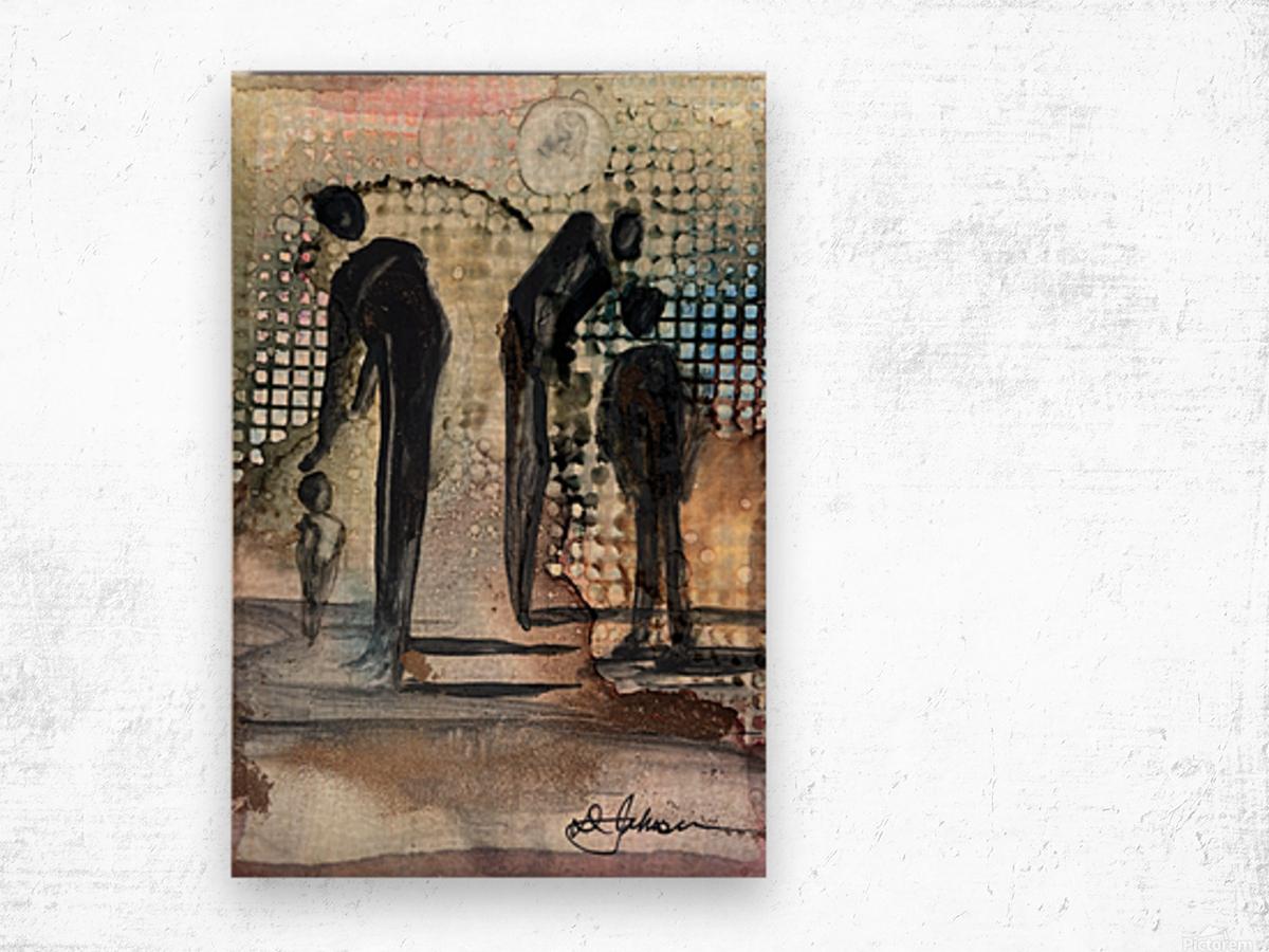 My People 1 Wood print