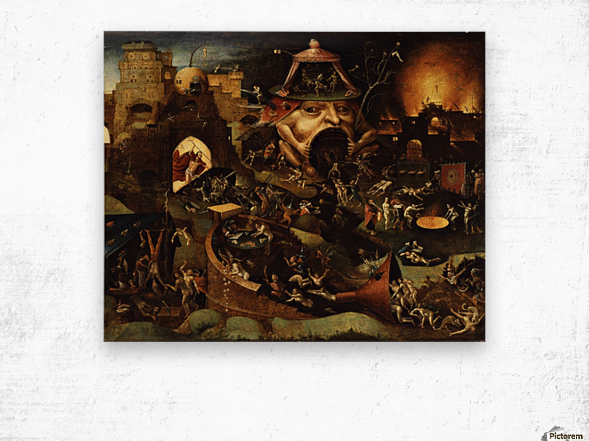 The Harrowing of Hell Impression sur bois